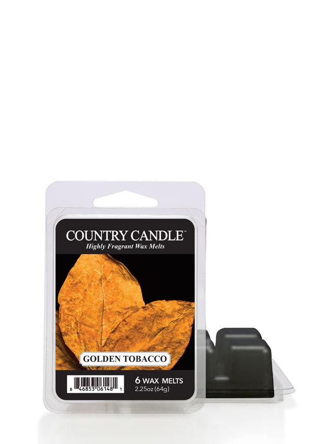 Golden Tobacco Wax Melt - Kringle Candle Store