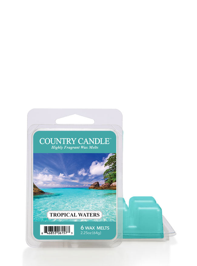 Tropical Waters Wax Melt - Kringle Candle Store