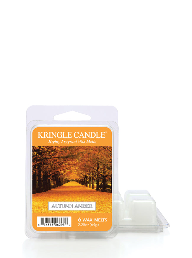 Autumn Amber Wax Melt New! - Kringle Candle Store