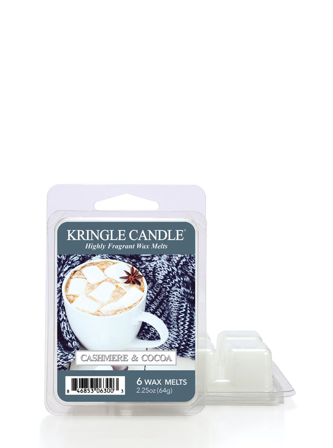 Cashmere & Cocoa Wax Melt - Kringle Candle Store