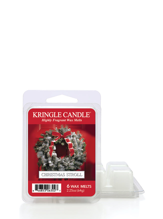 Christmas Stroll Wax Melt - Kringle Candle Store