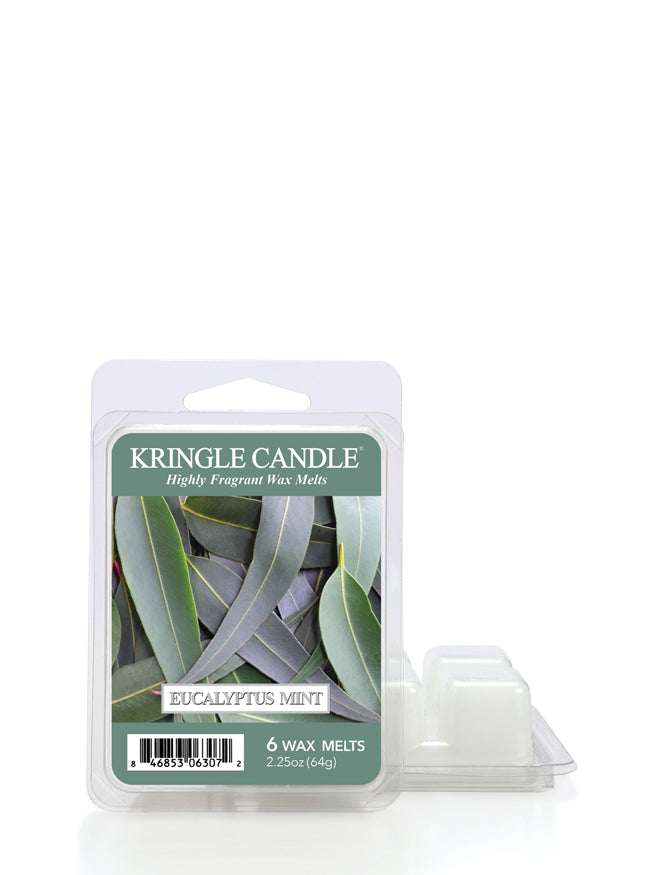 Eucalyptus Mint Wax Melt - Kringle Candle Store