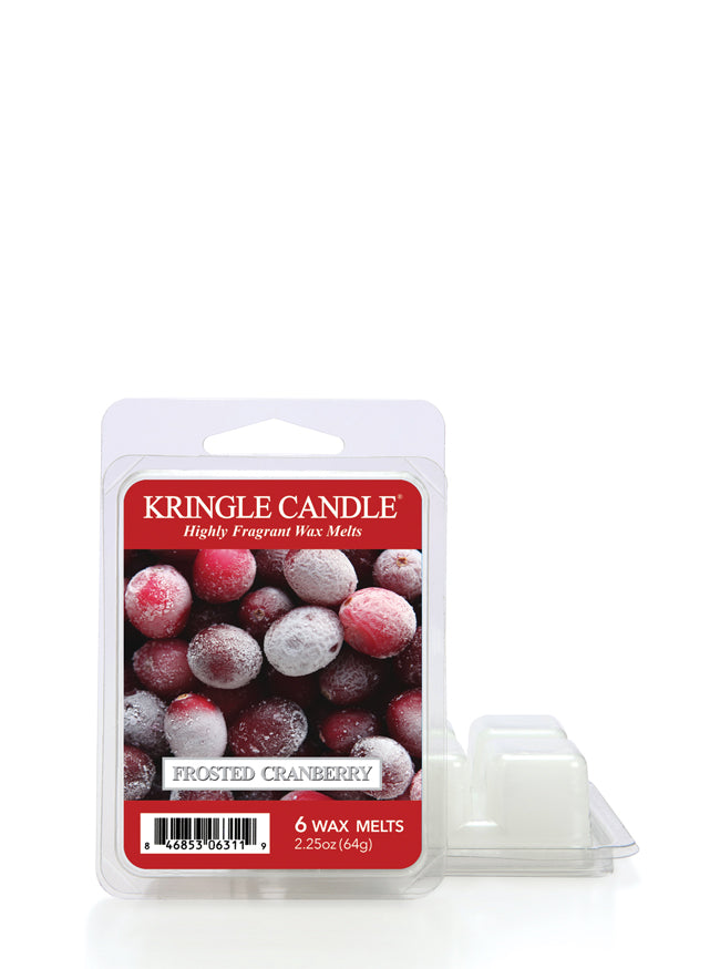 Frosted Cranberry Wax Melt - Kringle Candle Store