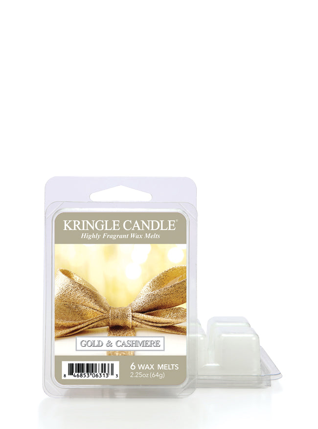 Gold & Cashmere Wax Melt - Kringle Candle Store