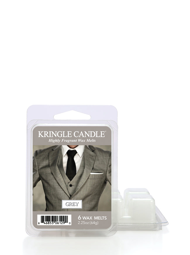 Grey Wax Melt Kringle - Kringle Candle Store