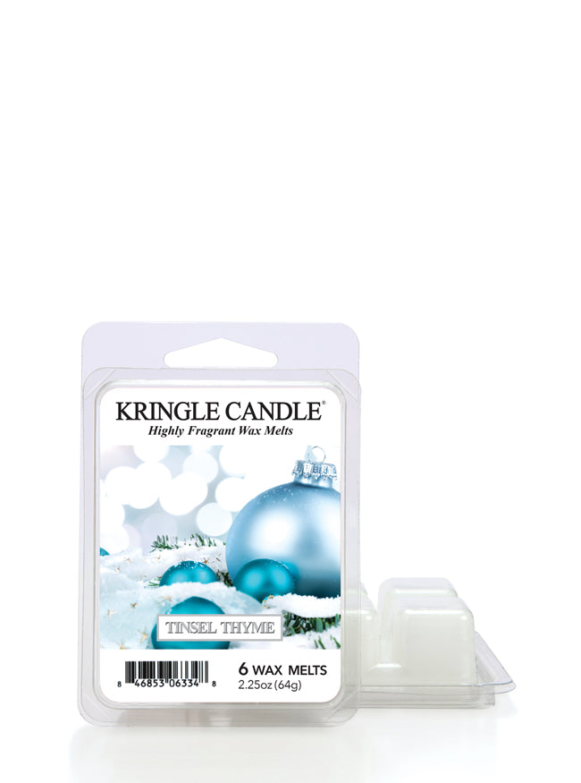 Tinsel Thyme Wax Melt - Kringle Candle Store
