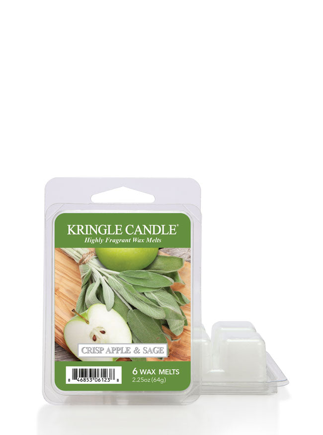 Crisp Apple & Sage Wax Melt - Kringle Candle Store