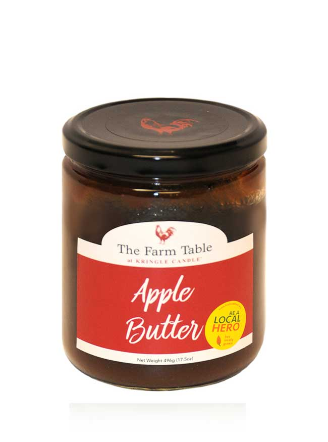 Farm Table Apple Butter 17.5oz Jar - Kringle Candle Store