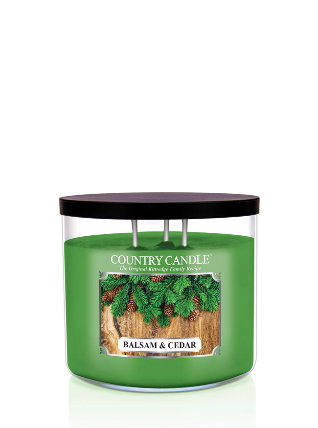 Balsam & Cedar New!  Soy Blend - Kringle Candle Store