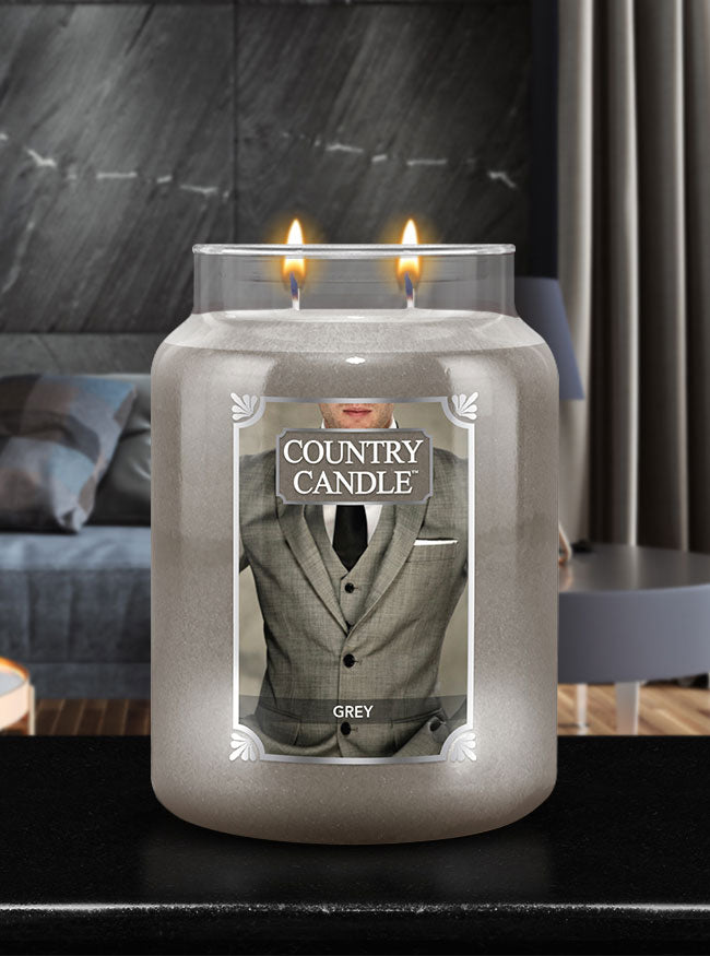 Grey Country Candle - Kringle Candle Store