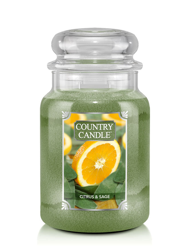 Citrus & Sage Country Candle