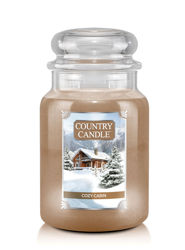 Cozy Cabin Country Candle