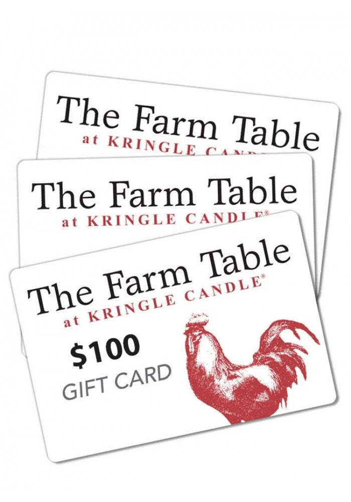 The Farm Table Restaurant Gift Card