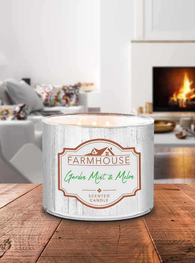 Farmhouse Garden Mint & Melon