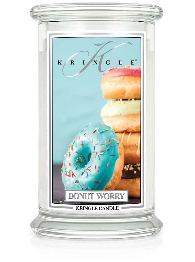 Donut Worry New! | Soy Candle