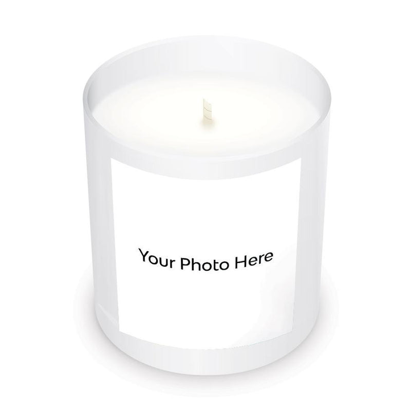 Unscented Personalized Candle