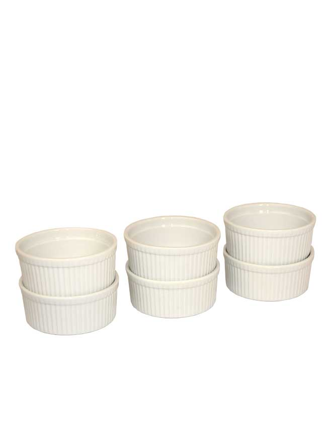 Ramekin Dish 10oz 6pc - Kringle Candle Store