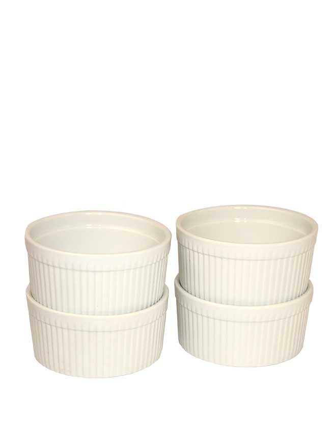 Ramekin Souffle Bowl 16oz 4pc - Kringle Candle Store