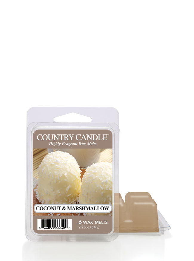 Coconut & Marshmallow Wax Melt New!