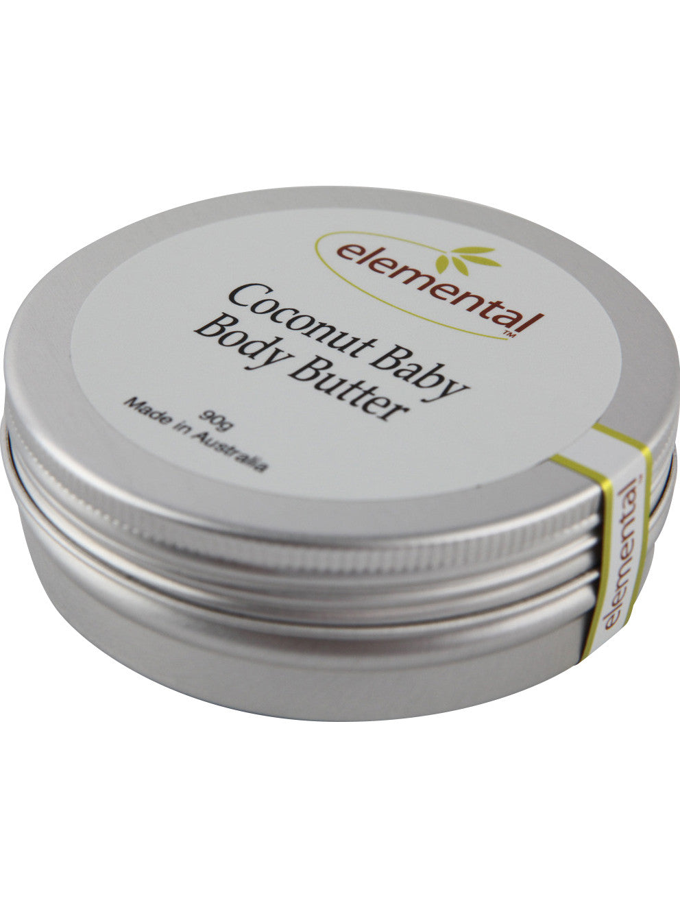 Coconut Baby Body Butter by Elemental Organic Skin Care