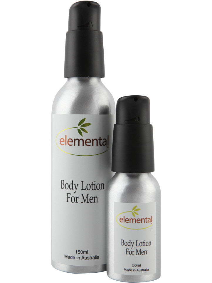 Body Lotion for Men by Elemental Organic Skin Care