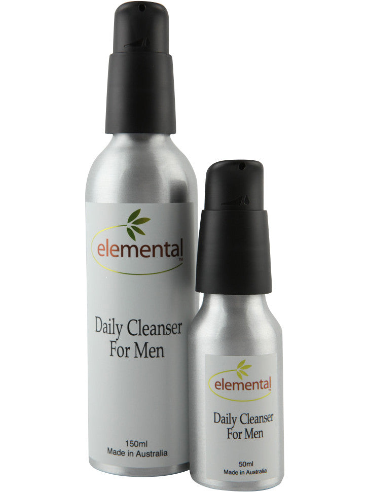 Daily Cleanser for Men by Elemental Organic Skin Care