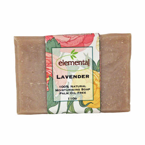 Lavender - Labeled Soap Bar