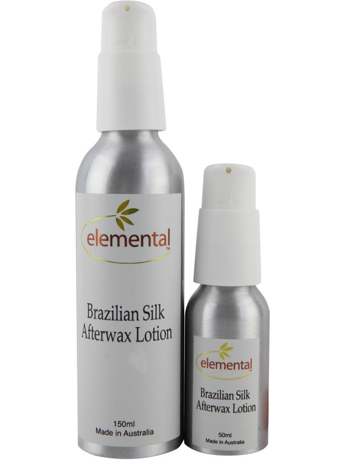 Brazilian Silk After Wax Lotion by Elemental Organic Skin Care