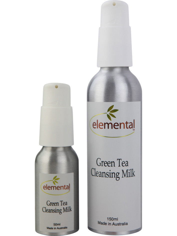 Green Tea Cleansing Milk by Elemental Organic Skin Care
