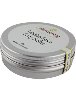 Tahitian Spice Body Butter by Elemental Organic Skin Care