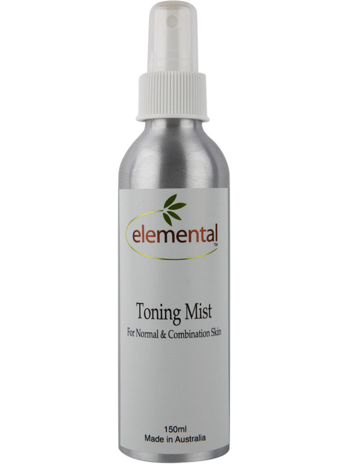 Toner for Normal and Combination Skin by Elemental Organic Skin Care