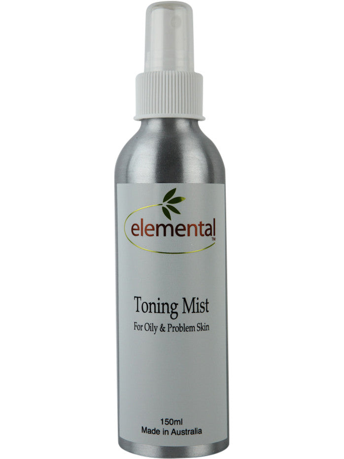 Toner for Oily and Problem Skin by Elemental Organic Skin Care