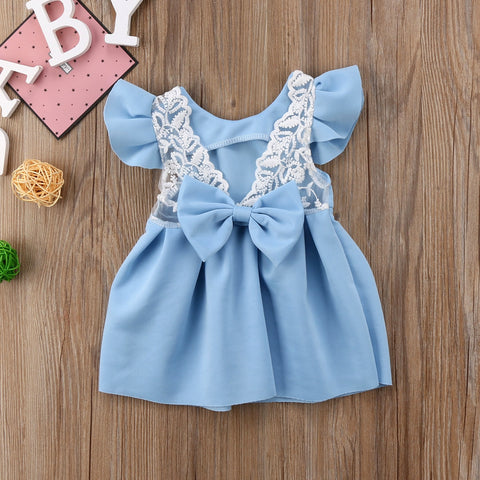 Lace Bow Dress