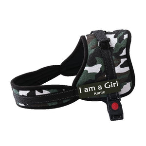Personalized NO CHOKE Dog Harness