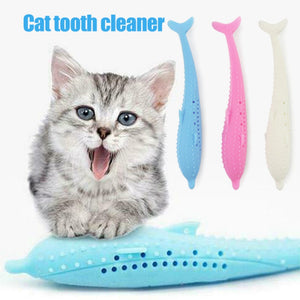 Purr® Cleaning Teeth Chew Toys for cats.