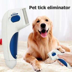 Flea Doctor - The Best Electric Flea Comb For Dogs and Cats