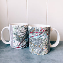 Load image into Gallery viewer, Farnham Map Coffee Mugs