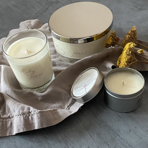 Bergamot Scented Candles