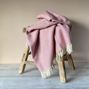 Rosebay Herringbone Throw