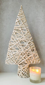 Wicker Xmas Tree