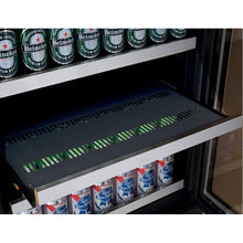 Load image into Gallery viewer, Allavino FlexCount II 42 Beer Bottle Tru-Vino Stainless Beverage Center