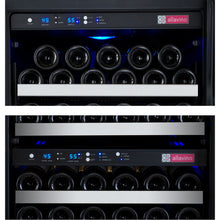 Load image into Gallery viewer, Allavino FlexCount II 249 Bottle Three Zone Stainless Side-by-Side Wine Cooler
