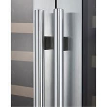 Load image into Gallery viewer, Allavino FlexCount II  256 Bottle Dual Zone Stainless Side-By-Side Wine Cooler