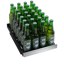 Load image into Gallery viewer, Allavino FlexCount II 28 Beer Bottle Tru-Vino Stainless Beverage Center