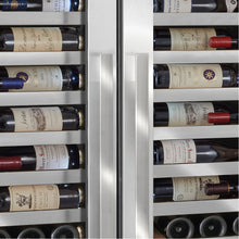 Load image into Gallery viewer, Vinotheque Double Café 300 Bottle Wine Cooler Stainless Steel Door