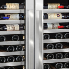 Load image into Gallery viewer, Vinotheque Double Café 300 Bottle Dual Zone MAX Wine Cooler