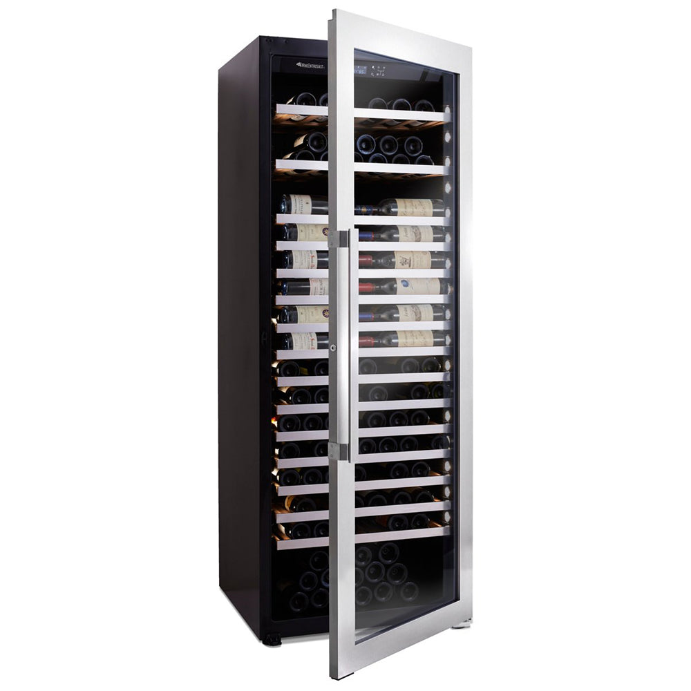 Vinotheque XL 250 Bottle Single Zone Stainless Wine Cooler
