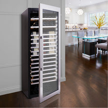 Load image into Gallery viewer, Vinotheque XL 250 Bottle Single Zone Stainless Wine Cooler