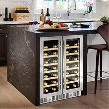 "Load image into Gallery viewer, N'FINITY PRO HDX 24"" French Door Wine Cooler"