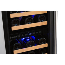 Load image into Gallery viewer, Smith & Hanks 32 Bottle Dual Zone Wine Cooler